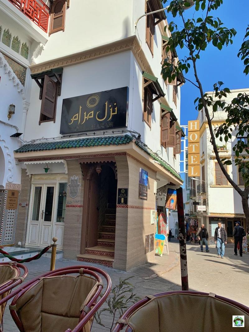 hotel a Tangeri Medina