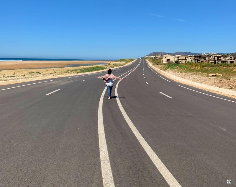 on the road per il Marocco