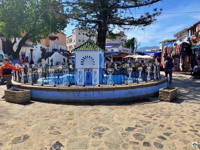 piazza fontana chefchaouen