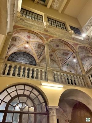 interno accademia belle arti di Carrara