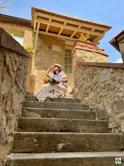 Castiglione d'Orcia borgo medievale