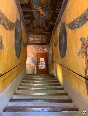 Scala santa Campli discesa