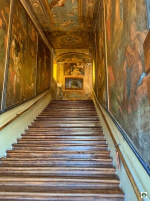 Scala santa Campli salita