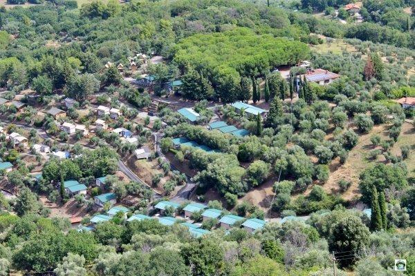 Vallicella resort dall'alto