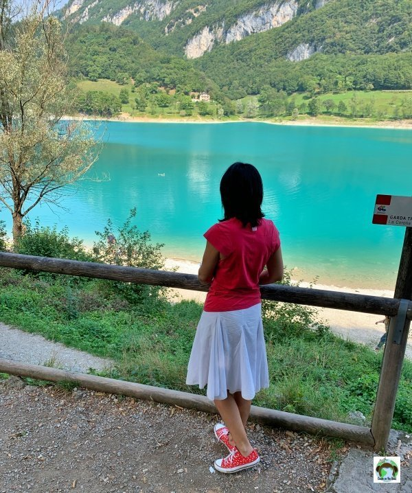 panorama lago Tenno