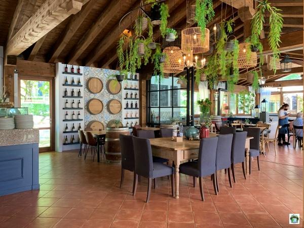 bar ristorante Orlando in Chianti Glamping