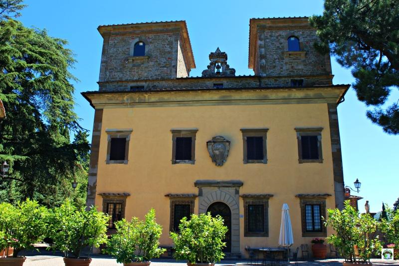 Castello Albola vino storia palazzo