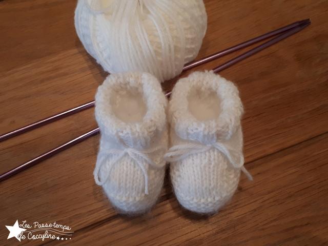 en soldes 01a55 e9210 Premiers chaussons pour bébé au tricot ! – Les Passe-temps ...