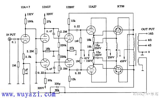 麥景圖MC-275電子管功放電路圖   研發互助社區