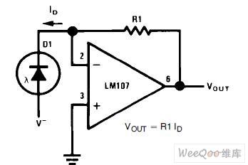 光電二極體放大器電路圖 | 研發互助社區