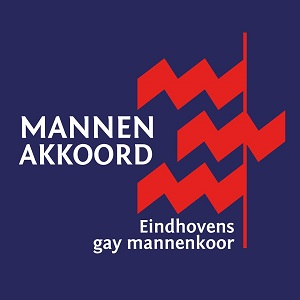 Mannenakkoord Eindhovens gay mannenkoor logo