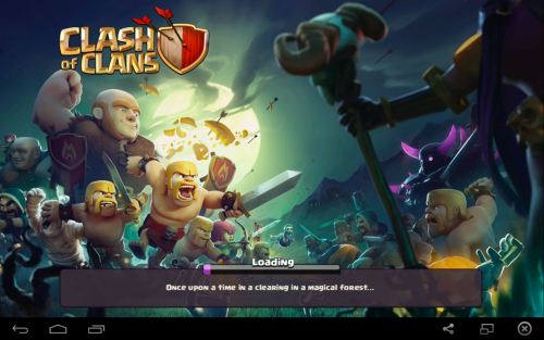 Playing Clash of Clans on the PC