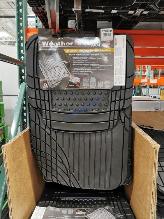 Costco Car Floor Mats : costco, floor, WeatherTech, 4-piece, Trim-to-Fit, CostcoChaser