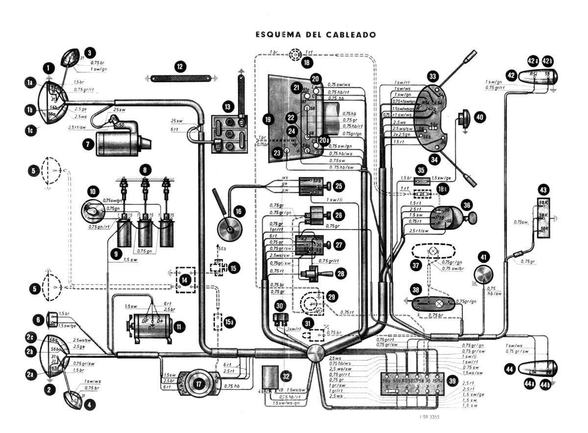 128 Fiat Wiring