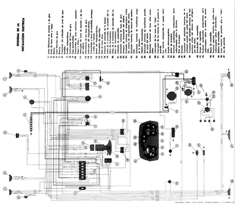 Wiring Diagram 1965 Chevy C 10 Coche Argentino Circuitos El 201 Ctricos