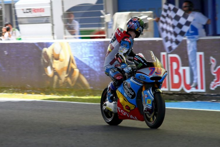 Alex Márquez gana el mundial de la Moto Gp2