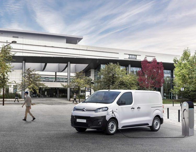 Citroën lanza el Jumpy electrico