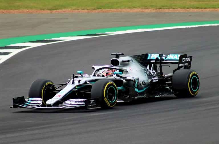 Lewis Hamilton en F1 en 2008