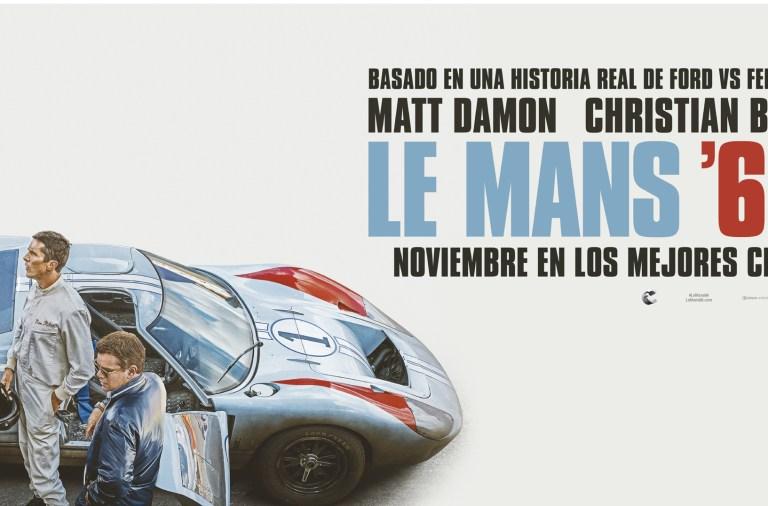El cartel de Le Mans 66