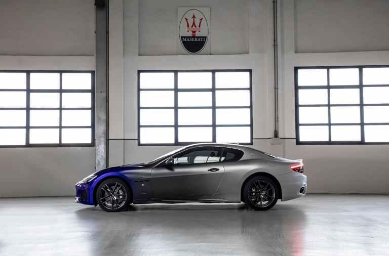 perfil del Maserati GranTurismo Zéda