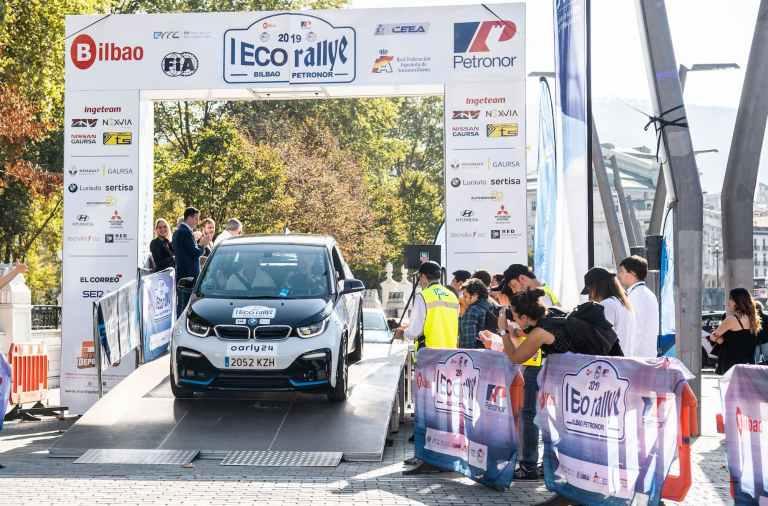 salida del Eco Rallye de la Comunitat Valenciana
