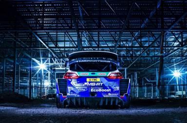 Así luce el nuevo Ford Fiesta WRC 2020