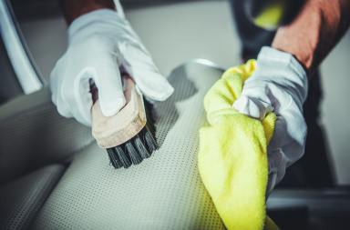 Leather Car Seats Cleaning