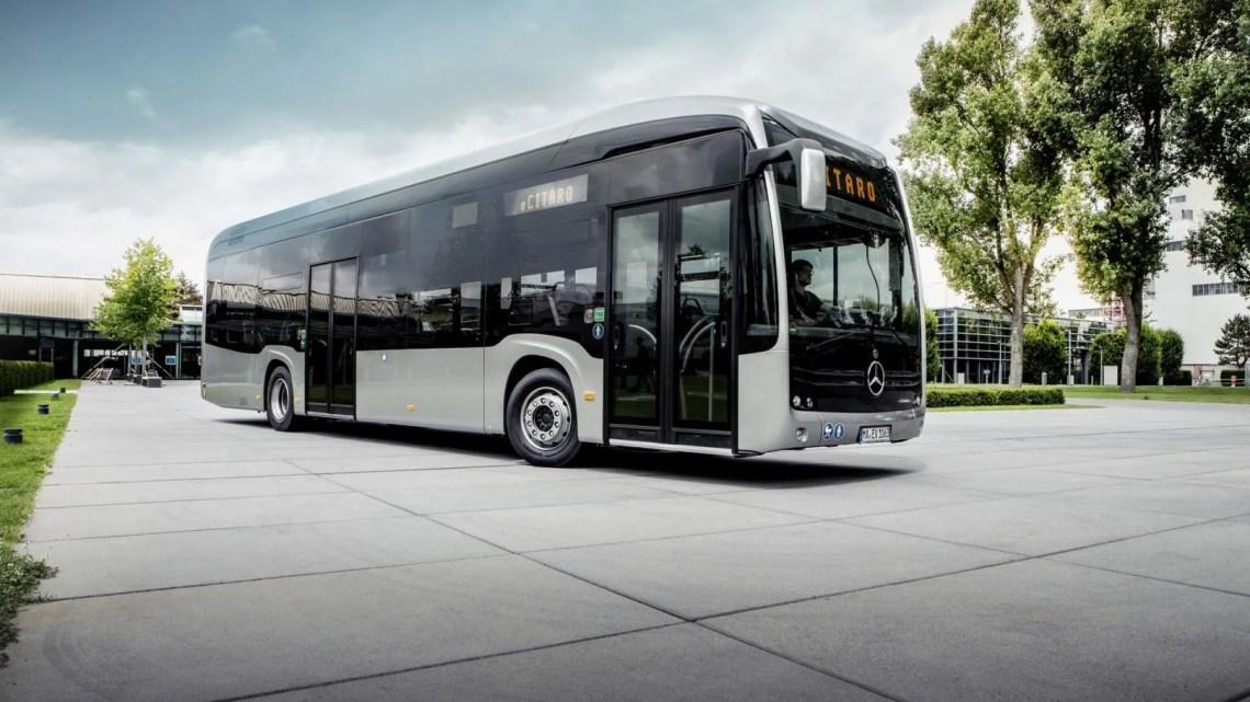 Autobus mercedes eléctrico