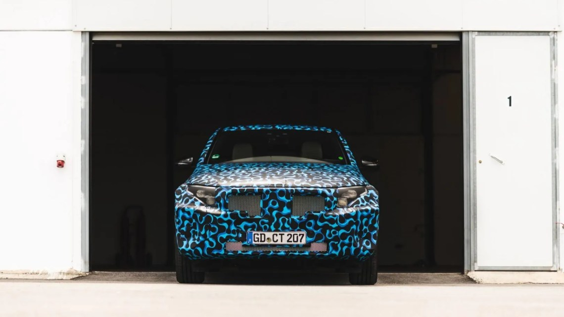 El coche eléctrico de Mercedes-Benz se presentará en Estocolmo