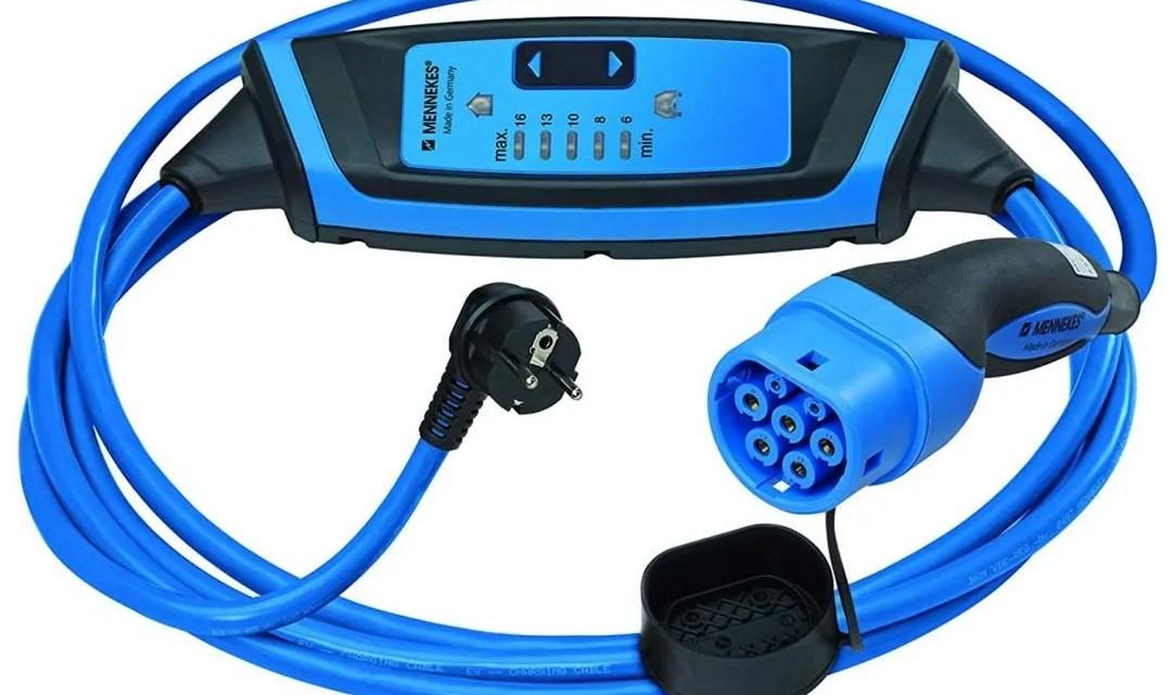 ⚡Mejores cargadores portátiles para cargar coches eléctricos de 2020✅