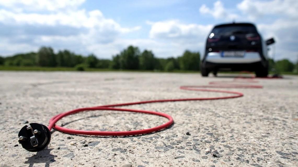 Velocidad de recarga en un coche eléctrico