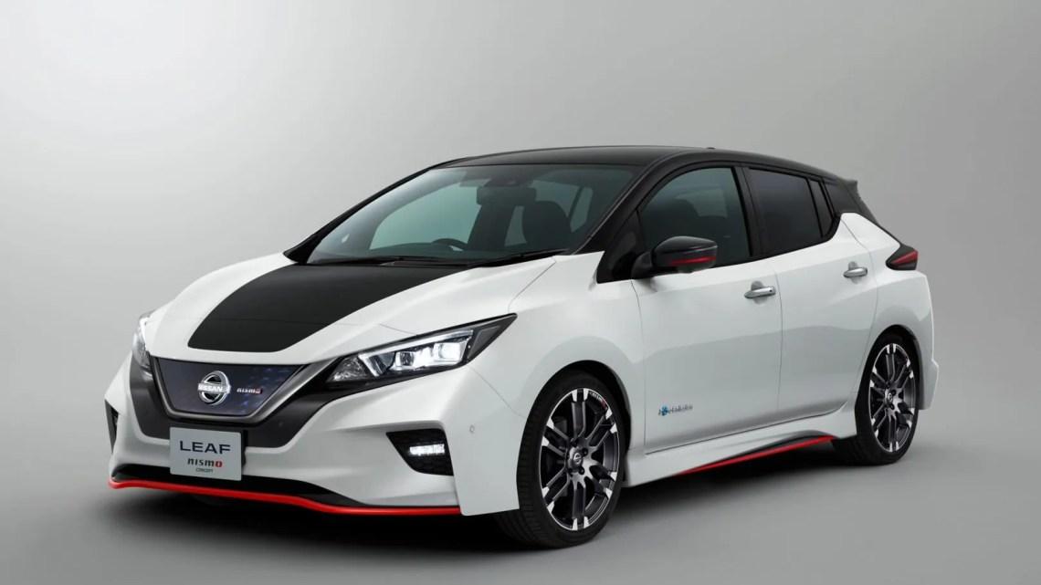 nissan leaf nismo, el coche eléctrico deportivo de nissan