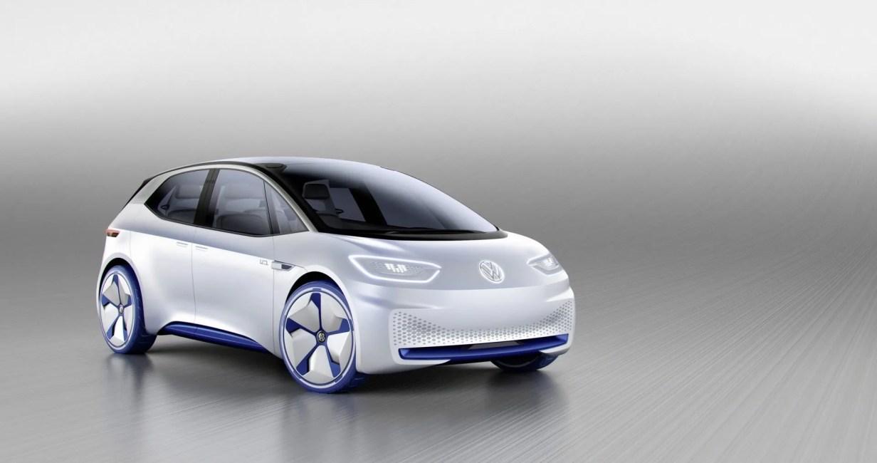 Volkswagen id coche eléctrico