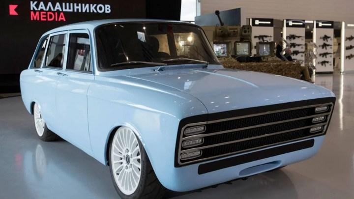 Kalashnikov CV-1: el coche eléctrico del fabricante de armas ruso