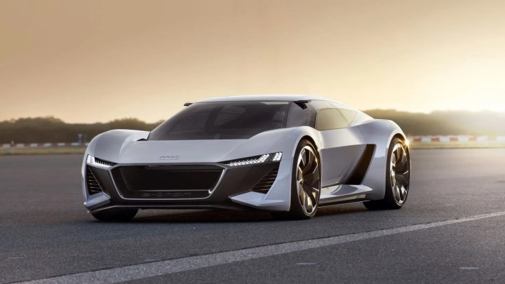 Audi PB-18 e-tron, el supercoche eléctrico