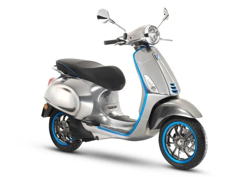Moto Vespa eléctrica