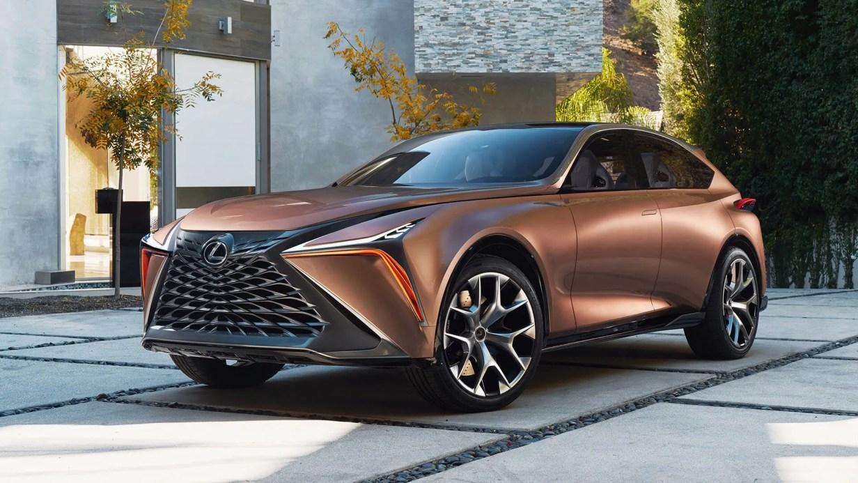 concept lexus coche eléctrico