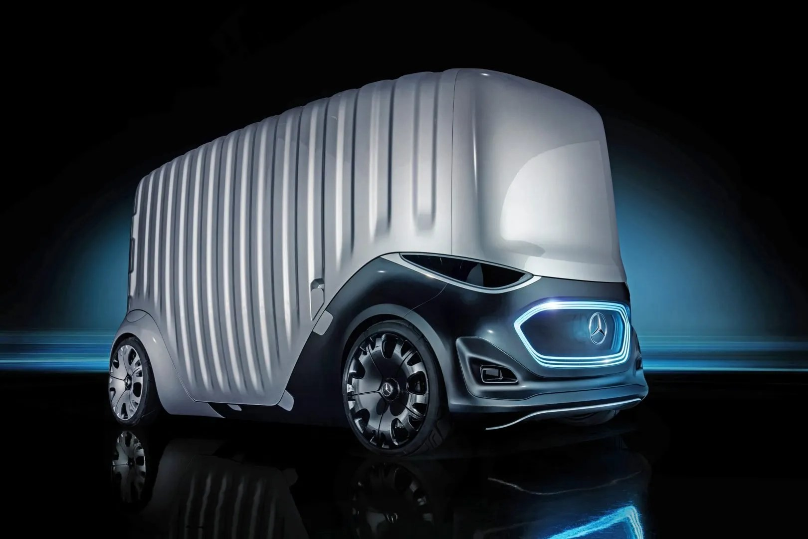 Mercedes-Benz Vision Urbanetic carga