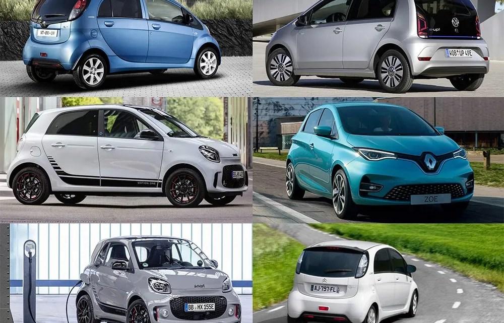 Los 10 coches eléctricos más baratos de 2020