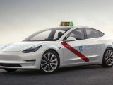 Tesla Model 3 Taxi Madrid
