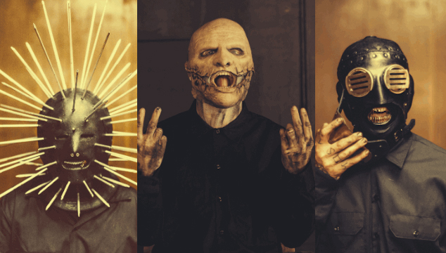As son las nuevas mscaras de Slipknot VIDEO  Cochinopop