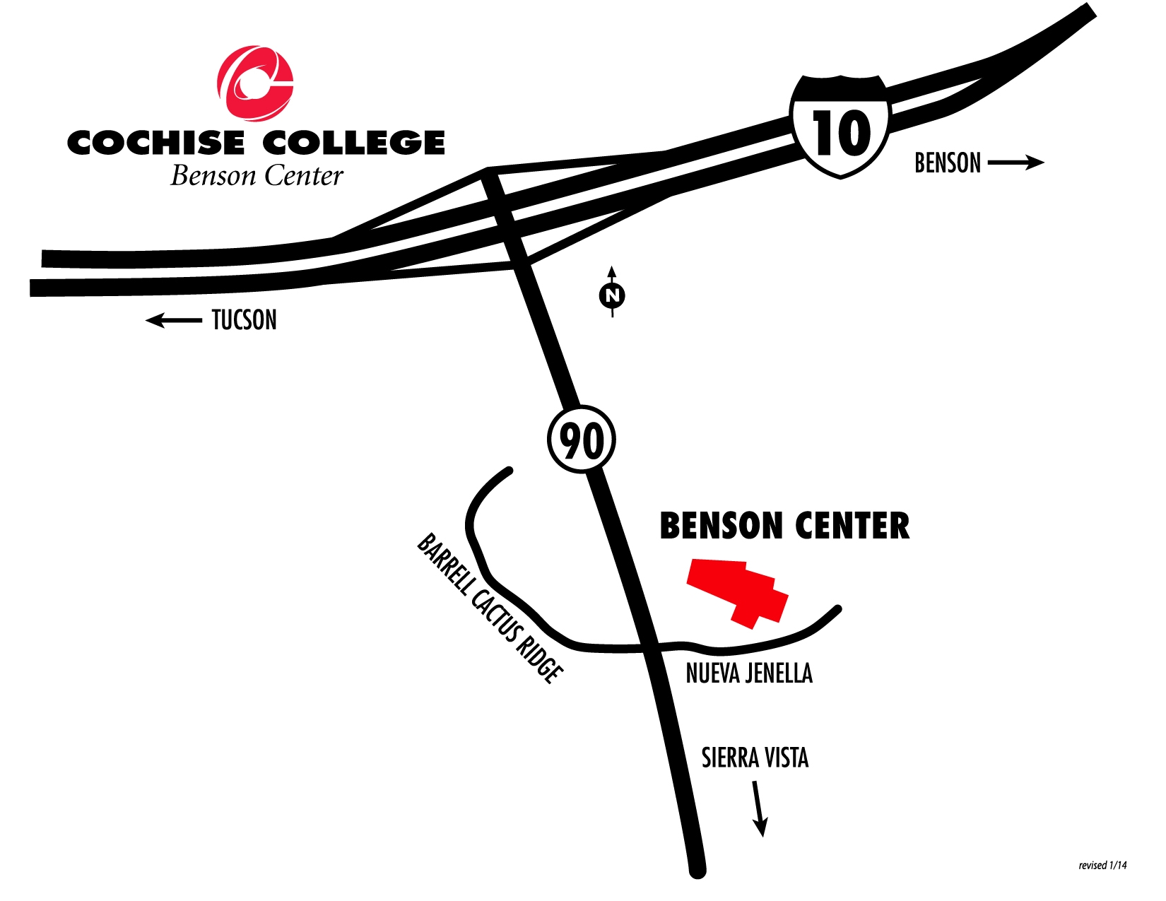 Area and Campus Maps