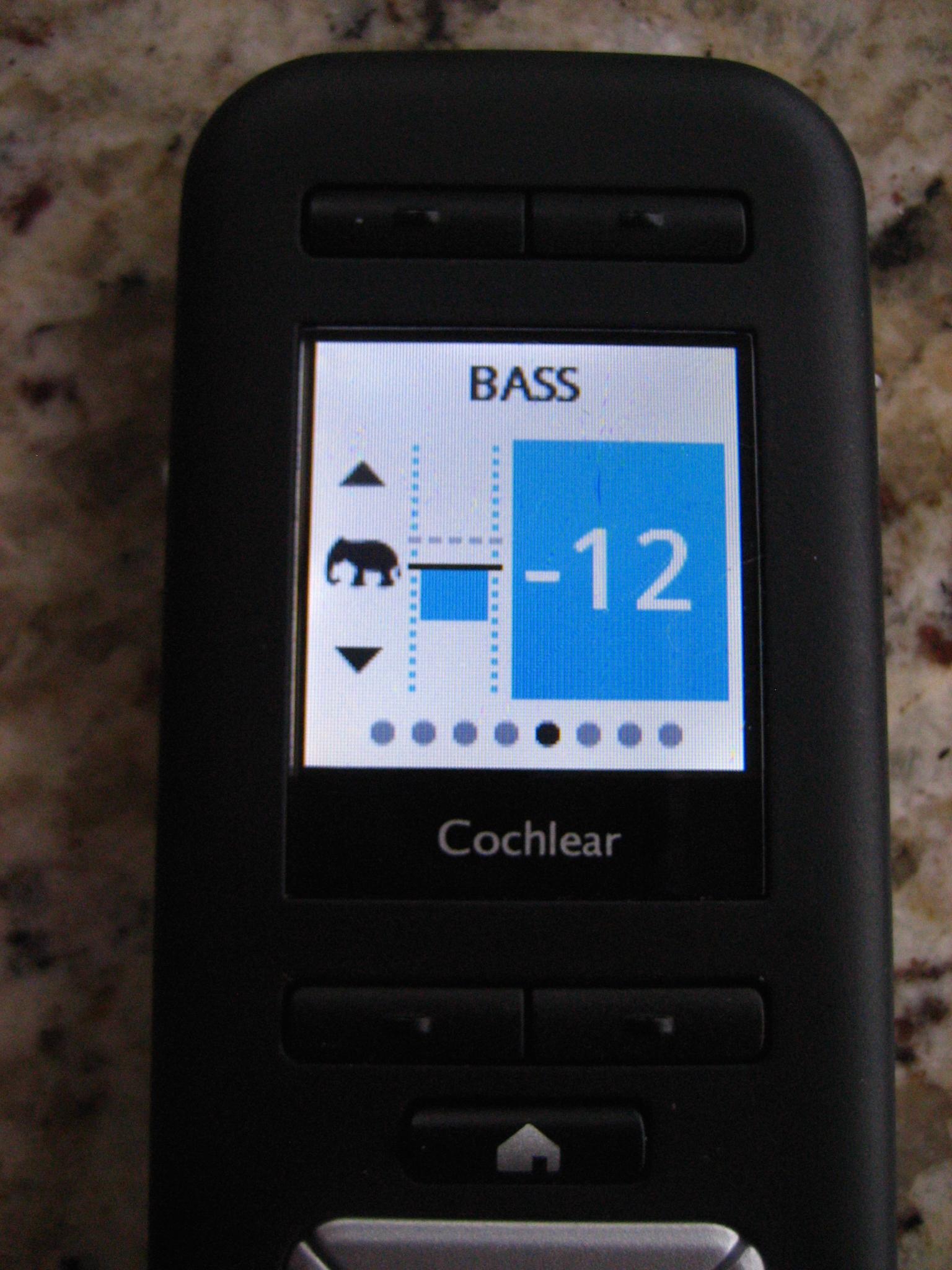 hight resolution of bass adjust