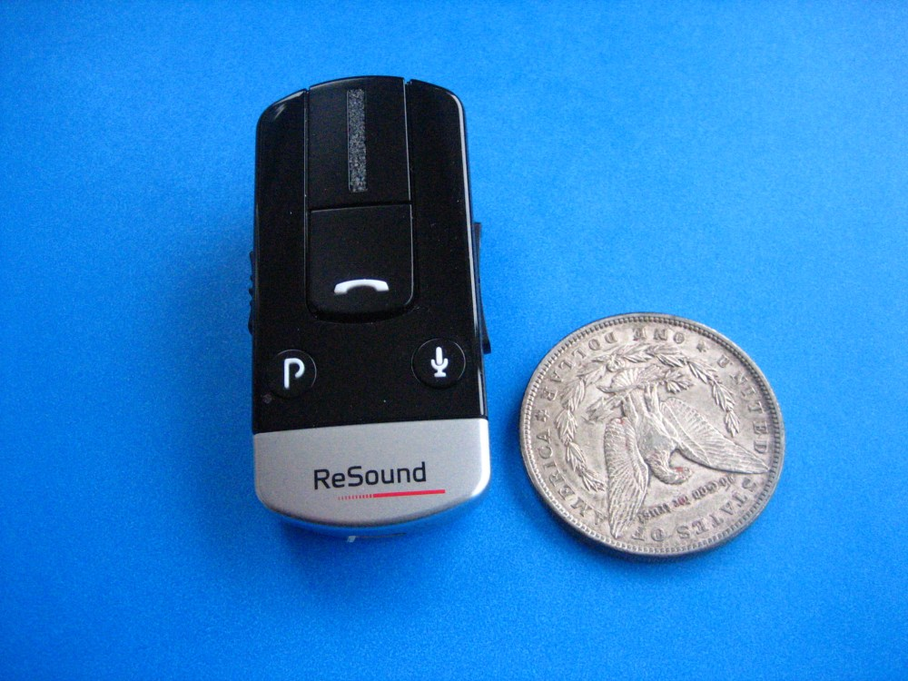 medium resolution of phone clip with us dollar coin for size comparison