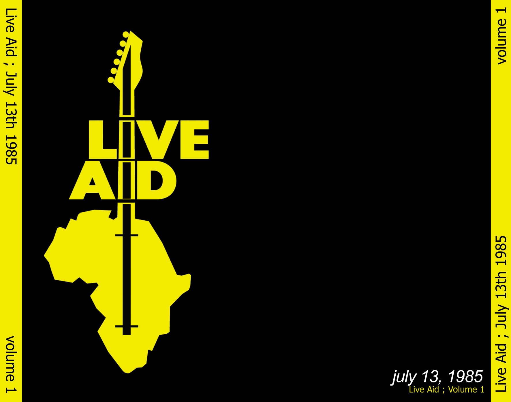 LIVE AID  Live in LONDON  PHILADELPHIA  Wembley stadium
