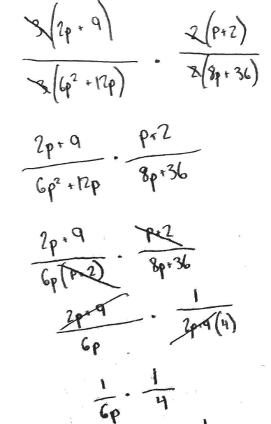 cochranmath / Operations on Rational Expressions