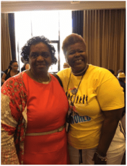 Sis. McNeil and Sis. Kennebrew