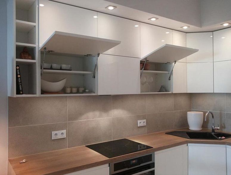 Cocinas peque as s cales el m ximo partido - Aprovechar cocinas pequenas ...