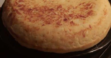 Tortilla de patata que mi abuela enseño a mi madre y mi madre a mi
