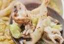 Caldero de calamares de Murcia